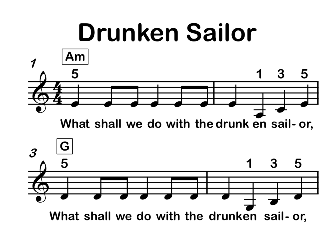 Drunken Sailor MSN