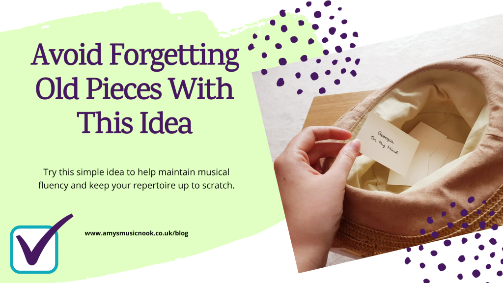 Avoid Forgetting Old Pieces With This Idea